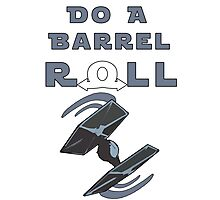 Barrel Roll Tie Photographic Print