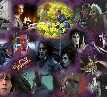 Tim Burton Collage by megacraze