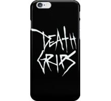 Death Grips (White Logo) iPhone Case/Skin