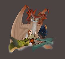 Valka and the dragons by Thelma carias