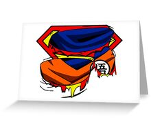 Super Who? Goku  Greeting Card