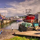 Mallaig Harbour by Rob Hawkins