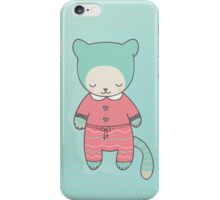 Cute cat clothing iPhone Case/Skin