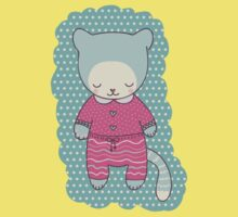Cute cat clothing Kids Clothes