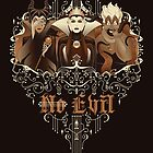 Three Wise Villains by SwanStarDesigns