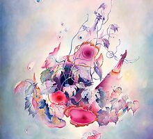 """The Flight"" from the series  ""Flower Galaxies"" by Anna Miarczynska"