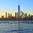 lower Manhattan One World Trade Center by pmarella