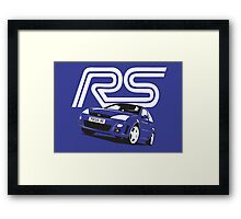 Ford Focus RS Mk1 Framed Print