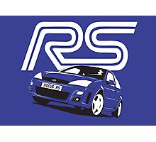 Ford Focus RS Mk1 Photographic Print