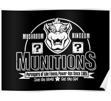 Mushroom Kingdom Munitions Poster
