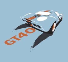 Ford GT40 Kids Clothes