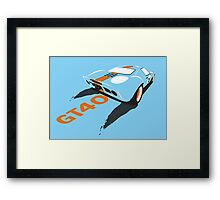 Ford GT40 Framed Print