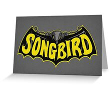Songbird Greeting Card