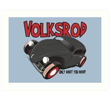 Volksrod VW Beetle Art Print