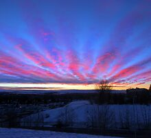 I Miss The Sunsets Of Alberta by Al Bourassa