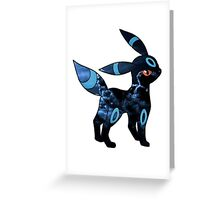 Umbreon (no background) Greeting Card