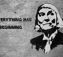 "Banksy/Darkinc1 - Doctor Who Tribute - (No Signature) - ""Everything Has a Beginning"" by James Ferguson - Darkinc1"