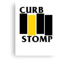 Curb Stomp Canvas Print