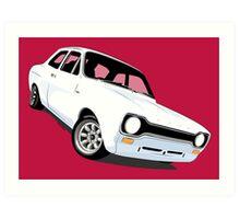 Ford Escort Mk1 Art Print