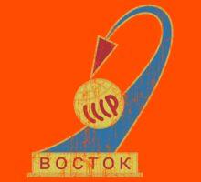 Vostok 1 Mission Patch - Bostok - Space - Yuri Gagarin by James Ferguson - Darkinc1