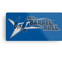 Do a Barrel Roll Metal Print