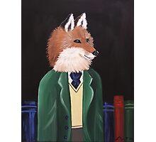 Professor Fox Photographic Print