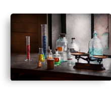Science - Chemist - Chemistry Equipment  Canvas Print