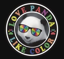 Love panda like color Kids Clothes