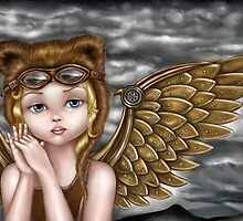 Steampunk Angel by pellenberger