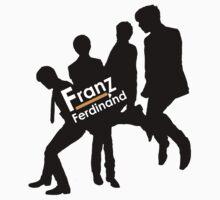 Franz Ferdinand Black and Orange by PhilosophyArt