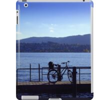 Bicycle at Zürichsee iPad Case/Skin