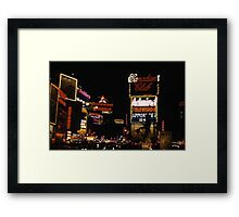 Times Square Broadway 1959 Framed Print