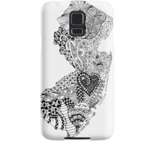 New Jersey Doodle Samsung Galaxy Case/Skin
