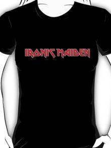 Ironic Maiden (red) T-Shirt