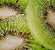 Kiwi Slices by Ellesscee