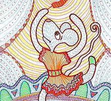 Happy dancing mouse by kalogerakis