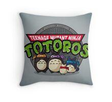 Turtle Neighbors Throw Pillow