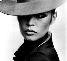 Brigitte Bardot - Cow Boy by gueguette