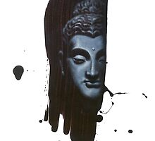 Buddha's Brushstroke by brendonart