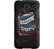 Hello Sweetie (iphone case) Samsung Galaxy Case/Skin