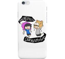 Amazingphil & Danisnotonfire cartoon iPhone Case/Skin