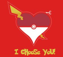 I Choose You! Kids Clothes
