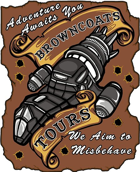 Browncoat Tours  by Ameda Nowlin