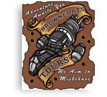Browncoat Tours  Canvas Print