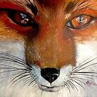 Fox Face by SkyeWieland