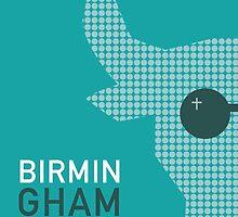 Birmingham England - The Bull Ring by postermyworld