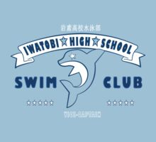 Free! Iwatobi Swim Club Shirt (Haruka, Vice-Captain) light blue by renotology