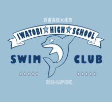 Free! Iwatobi Swim Club Shirt (Haruka, Vice-Captain) light blue T-Shirt