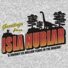 Isla Nublar by Baznet