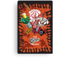 The Cornetto Trilogy Canvas Print